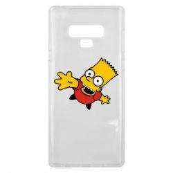 Чехол для Samsung Note 9 Барт Симпсон