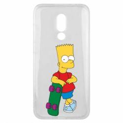 Чехол для Meizu 16x Bart Simpson - FatLine