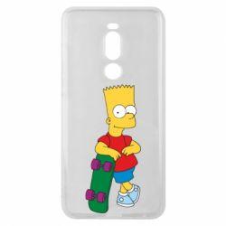 Чехол для Meizu Note 8 Bart Simpson - FatLine