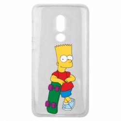 Чехол для Meizu V8 Bart Simpson - FatLine