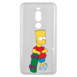 Чехол для Meizu V8 Pro Bart Simpson - FatLine
