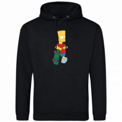 Мужская толстовка Bart Simpson - FatLine