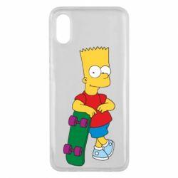 Чехол для Xiaomi Mi8 Pro Bart Simpson - FatLine