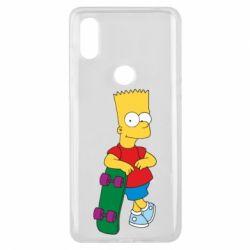 Чехол для Xiaomi Mi Mix 3 Bart Simpson - FatLine
