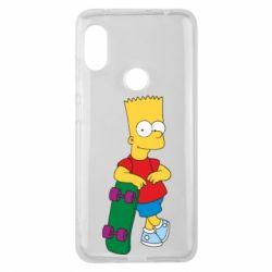 Чехол для Xiaomi Redmi Note 6 Pro Bart Simpson - FatLine