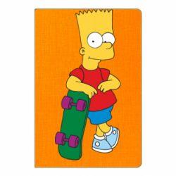 Блокнот А5 Bart Simpson - FatLine
