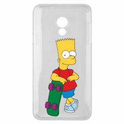 Чехол для Meizu 15 Lite Bart Simpson - FatLine