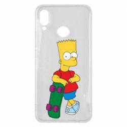 Чехол для Huawei P Smart Plus Bart Simpson - FatLine