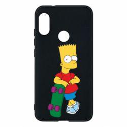 Чехол для Mi A2 Lite Bart Simpson - FatLine
