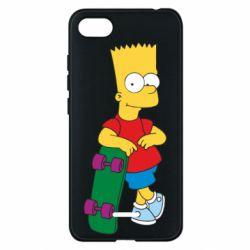 Чехол для Xiaomi Redmi 6A Bart Simpson - FatLine