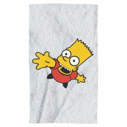 Полотенце Барт Симпсон
