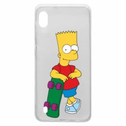 Чохол для Samsung A10 Bart Simpson