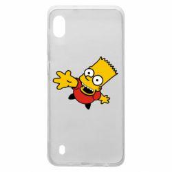 Чехол для Samsung A10 Барт Симпсон
