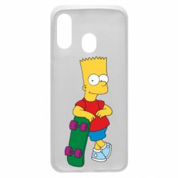 Чохол для Samsung A40 Bart Simpson