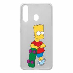 Чохол для Samsung A60 Bart Simpson