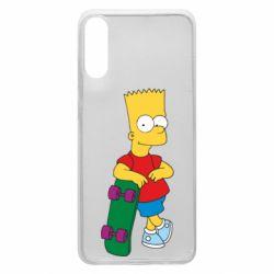 Чохол для Samsung A70 Bart Simpson