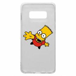 Чехол для Samsung S10e Барт Симпсон