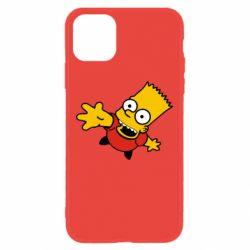 Чехол для iPhone 11 Барт Симпсон