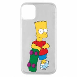 Чохол для iPhone 11 Pro Bart Simpson