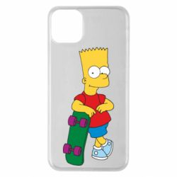 Чохол для iPhone 11 Pro Max Bart Simpson