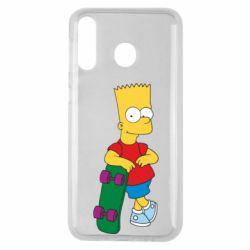 Чохол для Samsung M30 Bart Simpson