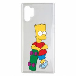 Чохол для Samsung Note 10 Plus Bart Simpson