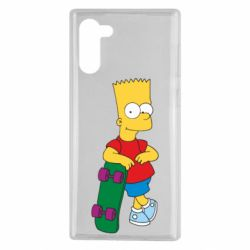 Чохол для Samsung Note 10 Bart Simpson