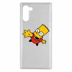 Чехол для Samsung Note 10 Барт Симпсон