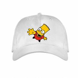 Детская кепка Барт Симпсон