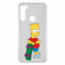 Чохол для Xiaomi Redmi Note 8 Bart Simpson