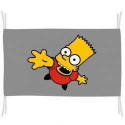 Флаг Барт Симпсон