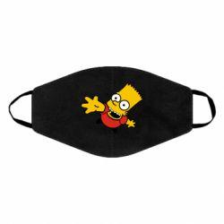 Маска для лица Барт Симпсон