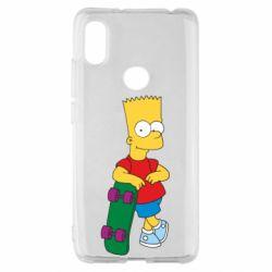 Чохол для Xiaomi Redmi S2 Bart Simpson