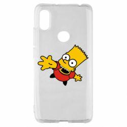 Чохол для Xiaomi Redmi S2 Барт Симпсон