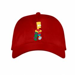 Детская кепка Bart Simpson - FatLine