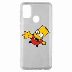 Чехол для Samsung M30s Барт Симпсон