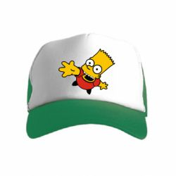 Детская кепка-тракер Барт Симпсон