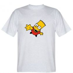 Мужская футболка Барт Симпсон - FatLine
