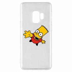 Чехол для Samsung S9 Барт Симпсон