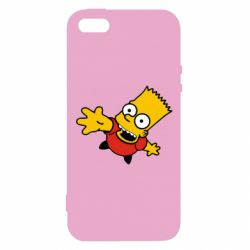 Чехол для iPhone5/5S/SE Барт Симпсон