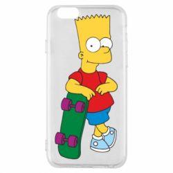 Чехол для iPhone 6/6S Bart Simpson - FatLine