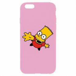 Чехол для iPhone 6/6S Барт Симпсон
