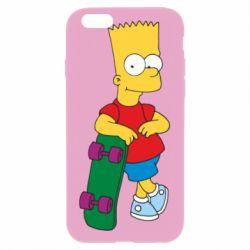 Чехол для iPhone 6 Plus/6S Plus Bart Simpson - FatLine