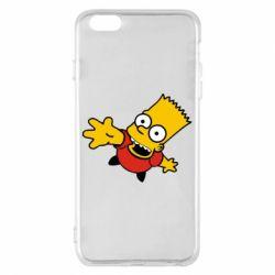 Чехол для iPhone 6 Plus/6S Plus Барт Симпсон