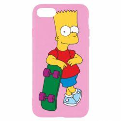Чехол для iPhone 7 Bart Simpson - FatLine