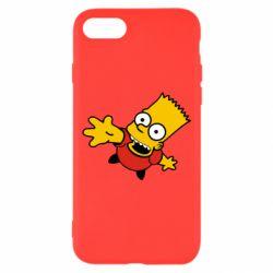 Чехол для iPhone 7 Барт Симпсон