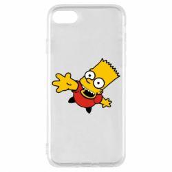 Чехол для iPhone 8 Барт Симпсон