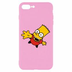 Чехол для iPhone 8 Plus Барт Симпсон