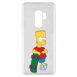 Чехол для Samsung S9+ Bart Simpson - FatLine