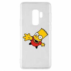 Чехол для Samsung S9+ Барт Симпсон